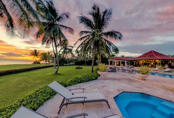 Luxury Golf Front Vacation Villa In Casa De Campo With Fantastic Ocean Views