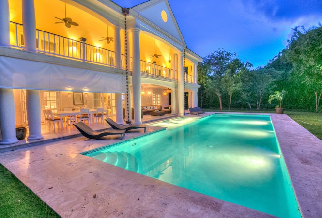 Tropical Luxury Holiday Rental Villa In Punta Cana
